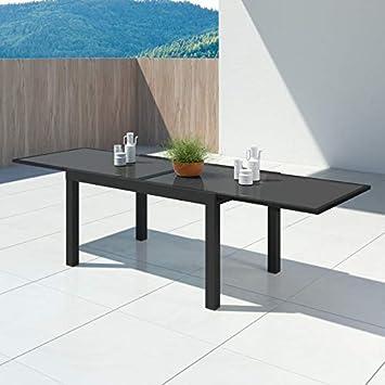 IMS GARDEN Hara XL Extensible aluminium-140/280cm-10 Places Table de ...