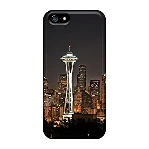 Tpu Case For Iphone 5/5s With Spectacular Seattle
