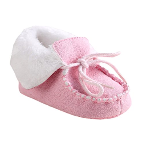 leap frogSnow Boots - Botas de nieve para niño Rosa