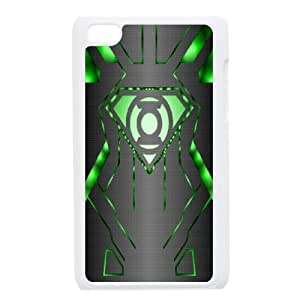 iPod Touch 4 Cell Phone Case White Green Lantern NF6035761