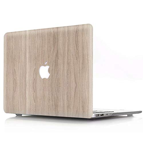 Hr Vinyl 24 Computer - Hard Case for MacBook pro 15 inch Retina Model A1398, AQYLQ Ultra Slim Matte Plastic Rubber Coated Protective Shell Cover, MW-24 Wood