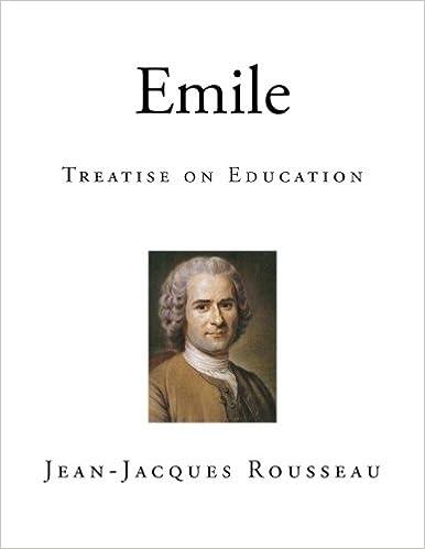 Emile by jean jacques rousseau