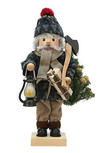 German Christmas Nutcracker Lumberjack limited edition - 49,5cm / 19 inch - Christian Ulbricht