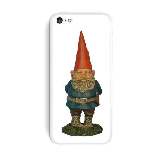 Graphics and More Garden Gnome Protective Skin Sticker Case for Apple iPhone 5C - Set of 2 - Non-Retail Packaging - Opaque ()