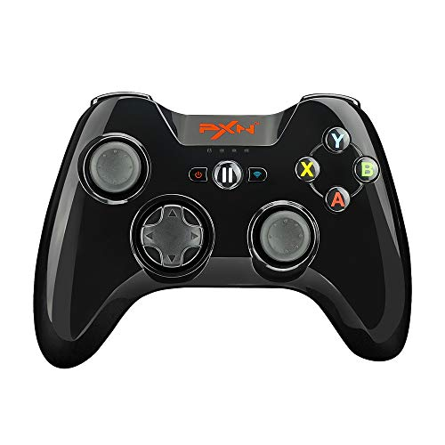 Mfi Certified Gamepad PXN Speedy(6603) iOS Gaming Controller with Phone Clip for Apple TV, Ipad, iPhone (Black)