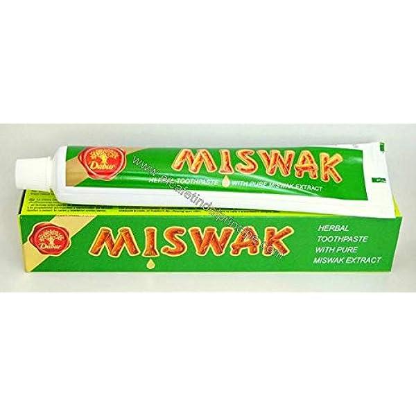 Pasta de Dientes Miswak - Salvadora Persica - Pack de 5 unidades x 154 gr: Amazon.es: Belleza