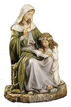 - Joseph Studio Saint Anne with Mary Religious Renaissance Figurine 7