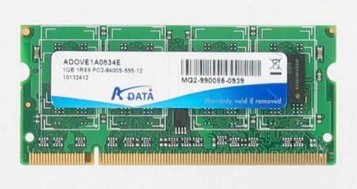 Amazon.com: A-Data 1 GB RAM DDR2 PC2 – 6400s-555 – – 12 ...