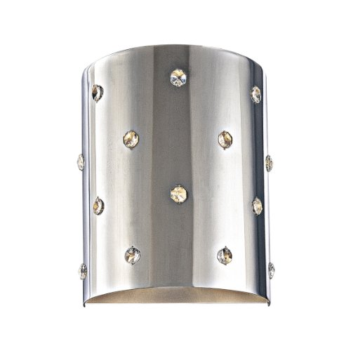 George Kovacs Wall Mount Lighting (George Kovacs Chrome Finished Bling Bling Wall Sconce 1 Light Wall Mount, with Light Bulb)