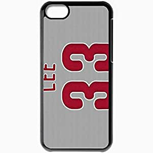 Personalized iPhone 5C Cell phone Case/Cover Skin 15048 phillies wp 15 sm Black
