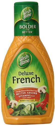 Wishbone Deluxe French Salad Dressing - Wish-Bone Salad Dressing, Deluxe French, 8 Ounce (Pack of 12)