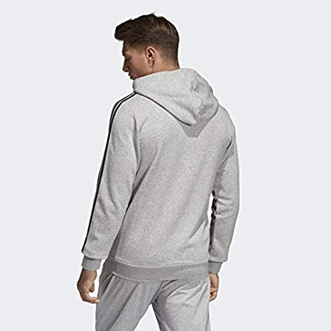 Adidas Essentials 3 Stripes Fullzip Fleece