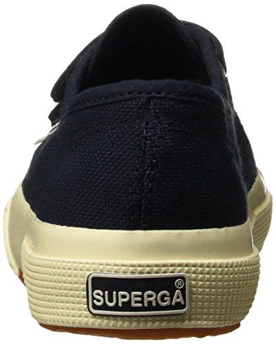 Little 1 Superga Jvel M Navy us 2750 Sneaker little White Kids 32 toddler Kid Unisex Classic wBB6A7Oq