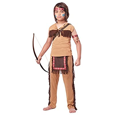 California Costumes Native American Brave Child Costume, Large: Toys & Games