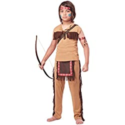 California Costumes Native American Brave Child Costume, Large