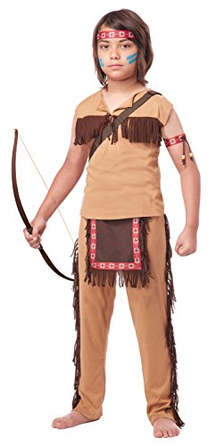 Best Children's Book Characters Costumes (California Costumes Native American Brave Child Costume, Medium)