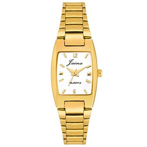 Jainx Golden Analog Watch for Women   JW1205