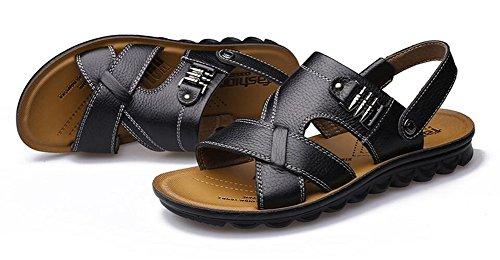 Nedons Cool Lightweight Skidproof Sandles Sandals for Men Brown dnlHwh
