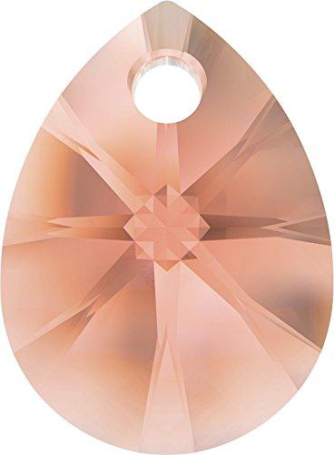 Cristalli a Swarovski 1138878 Pendenti Cristallo 6128 MM 12,0 rosa Peach, 144 Pezzi