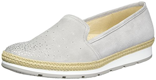 Gabor Women's Comfort-62.404.40 Ballet Flats Grey (Light Grey Jute) s11POUzl1