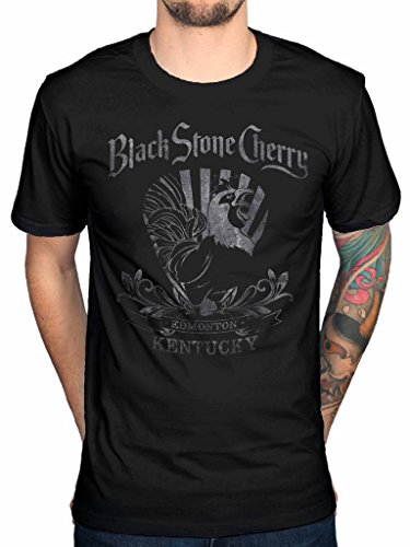 Official Black Stone Cherry Rooster T-Shirt Rock Band Magic Mountain Chris Robertson