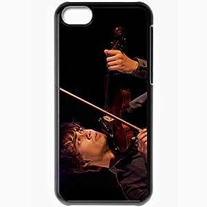 Personalized iPhone 5C Cell phone Case/Cover Skin Alexander rybak singer violinist violin Music Black