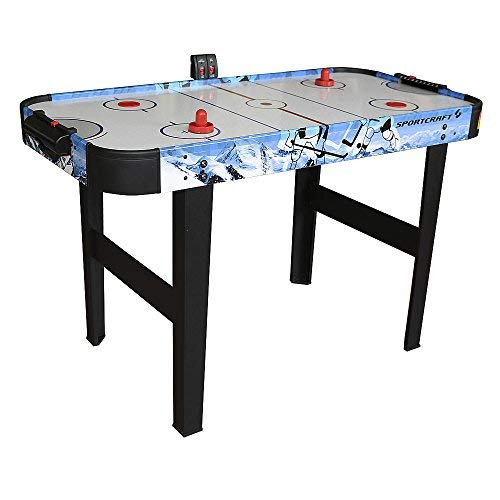48'' Air Hockey Table With Electronic Scorer by Sportcraft