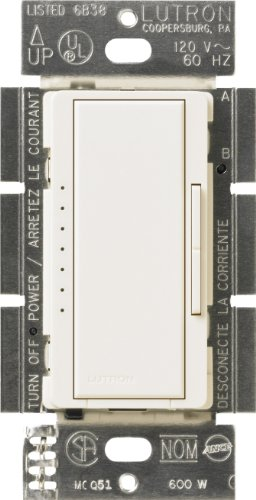 Lutron Maestro C.L Dimmer Switch for Dimmable LED, Halogen & Incandescent Bulbs, Single-Pole or Multi-Location, MACL-153M-BI, Biscuit