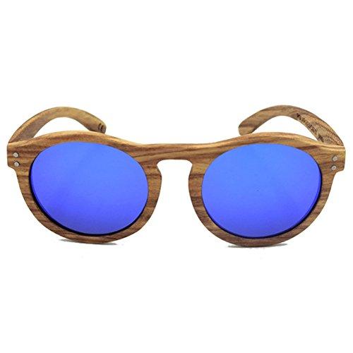 Boisen Unisex Hibote Polaris¨¦es Glasses Zebra Convex Nose Bleu Oval qpxwqAU7