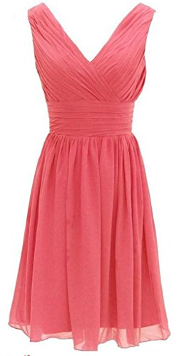 Watermelon Linie Kleid A Drasawee Red Damen RqzHpp4