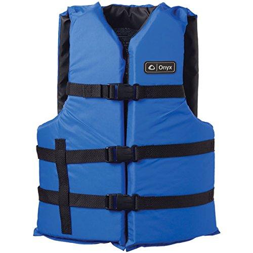 ONYX Adult General Purpose Life Vest, Blue, Oversize