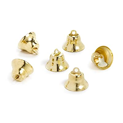 Darice 6 Piece, Gold Liberty Bell