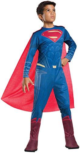 Rubie's Costume Batman v Superman: Dawn of Justice Superman Tween Value Costume, Medium -
