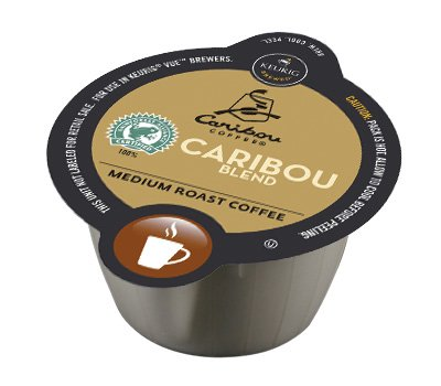 32 Count - Caribou Blend Vue Cup Coffee For Keurig Vue Brewers (Coffee Vue Keurig compare prices)