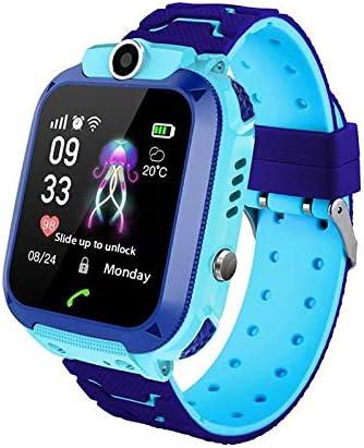 MOGOI Q12 Kids Smart Watch Phone Tracker For Children Student Boys Girls Smartwatch Waterproof 1.44 Inch Touch Glass Sport Wrist With Position Tracker