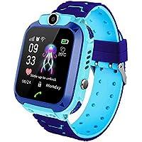 MOGOI Q12 Kids Smart Horloge Telefoon Tracker Voor Kinderen Student Jongens Meisjes Smartwatch Waterdichte 1.44 Inch…