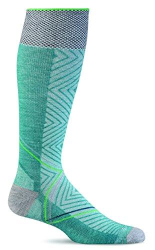 Sockwell Women's Pulse Graduated Compression Socks, Small/Medium, Mineral