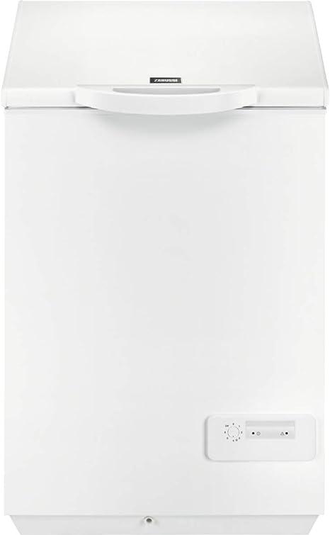 Zanussi ZFC14400WA Arcón Congelador Ecotech+, 66 cm, 1 cesto, Alarma luminosa, Mandos en el frontal, A+, 142 litros, Blanco: 302.5: Amazon.es: Grandes electrodomésticos