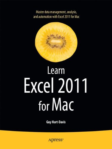 Learn Excel 2011 for Mac by Apress