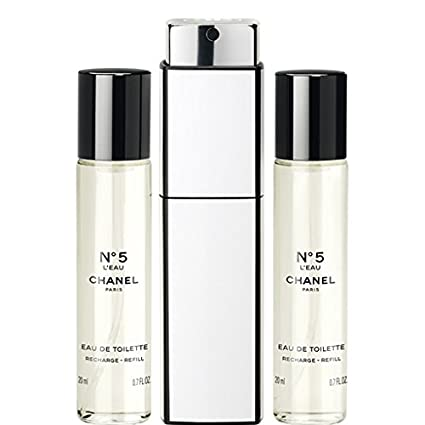 55e706d7a80 Amazon.com  N°5 L EAU EAU DE TOILETTE PURSE SPRAY 3 x 0.7 FL. OZ.   Everything Else