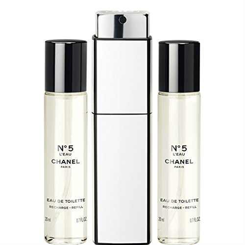 N°5 L'EAU EAU DE TOILETTE PURSE SPRAY 3 x 0.7 FL. OZ.