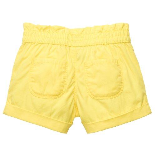 OshKosh B'gosh Baby Girl's Cuffed Poplin Bubble Shorts Yellow - Size 6 Months