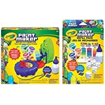 Crayola Paint Maker and Refill Pack, Bundle.