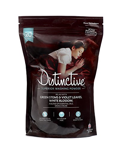 Distinctive Washing Powder - Laundry - Powder detergent - Bio washing powder - Eco - Relaxing Fragrance (Pack of 1)