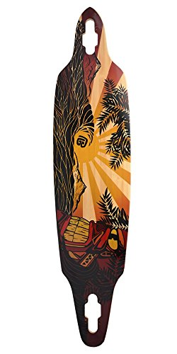 Bamboo Skateboards Directional Drop Through Longboard 41.13