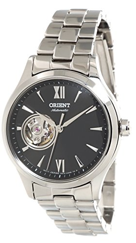 Orient Ladies Automatic Open Heart Steel Watch RA-AG0021B