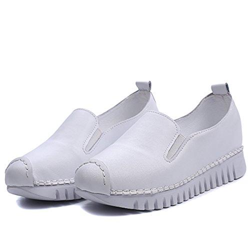 Mode Fitness Chaussure de Marche Course Femmes Plateforme Sport Basket Sneaker Tennis Compensé Hishoes fTqz5z