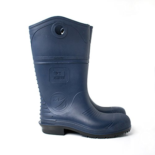 UltraSource 440137-12 DuraPro PVC Boots, Soft Toe, 15, Size 12, Blue Blue