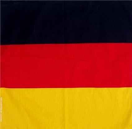 Amazon.com: Alemania Alemán Bandera Bandana Pañuelo Headwrap ...