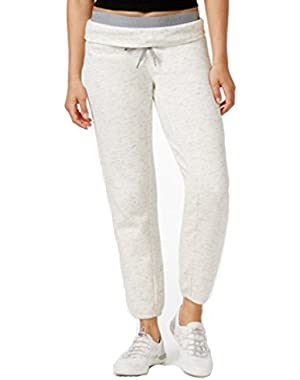 Calvin Klein Performance Fleece Jogger Pants White